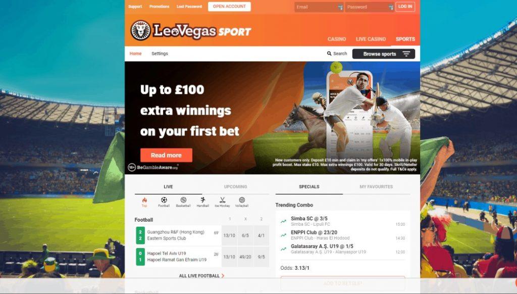 Leo Vegas betting tennis suites