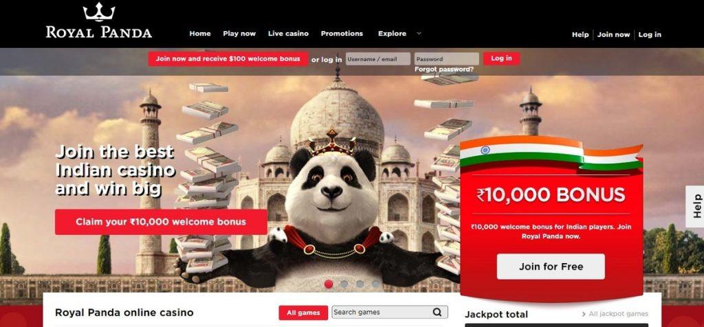 Royal Panda betting tennis suites